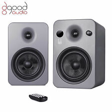 ROTH AUDIO POWA-5 MKII APT-X BLUETOOTH ACTIVE STEREO MONITOR SPEAKERS GREY