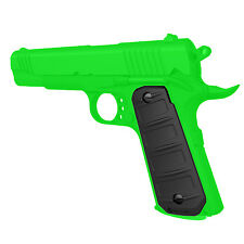 Recover Tactical Black Rubber Grip for 1911 Style Pistols - RG15