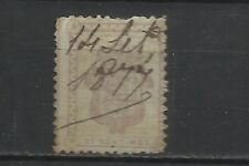 3332-SELLO FISCAL  ESPAÑA MADRID IMPUESTO SIGLO XIX 1875.SPAIN REVENUE TAX