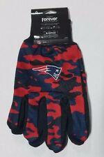 New England Patriots Camouflage Sports Utility Gloves Work gardening NEW CAMO
