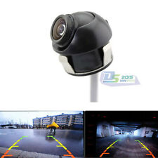 360º Night Vision Car Rear View Reverse CMOS Camera Backup Front Back Side View