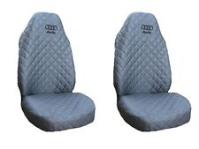 Front Seat Covers GREY for Audi A2 , A3 , A4 , A6