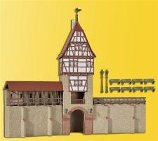 kibri 38914 échelle H0 Kit de montage Mur de la ville avec Tour de treillis in