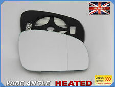 SKODA FABIA 2007-2014 Wing Mirror Glass Aspheric HEATED Right Side #K022
