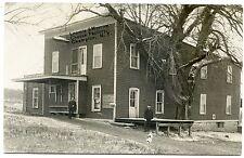 RPPC NY Champion Cheese Factory Loomis & Morrow 1910 Dog & Cat Jefferson County