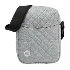 Mi-Pac Unisex Women's Men's Shoulder Bag bag Quilted grey