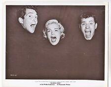 """Jerry Lewis / Dean Martin / Lizabeth Scott (Pressefoto '53) in """"Starr vor Angst"""""""