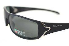 TAG HEUER RACER 2 POLARIZED TH9205 901 Mens Sport Sunglasses MATTE BLACK GREY BN