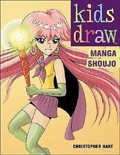 NEW Kids Draw Manga Shoujo by Christopher Hart - Large Paperback Book (English)