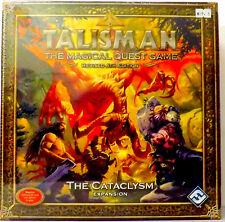 Talisman Cataclysm Expansion The Magical Quest Game  Fantasy Board Game New