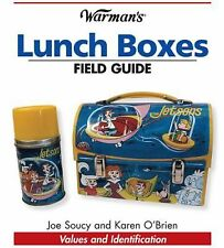 Warman's Lunch Boxes Field Guide: Values & Identification tons of pics free s&h