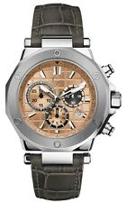 GC-4 EXECUTIVE GUESS COLLECTION GRAY CROC BAND CHRONO,SWISS WATCH  X72017G3S