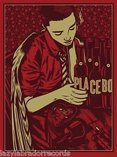 Placebo the Fillmore Silkscreen Poster the Fillmore Rockets Are Red