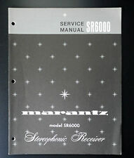 MARANTZ SR6000 Original Service-Manual/Service-Anleitung/Schaltplan!