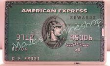 ☆ 8 GB USB Scheck American Express Grün Massenspeicher Neu ☆
