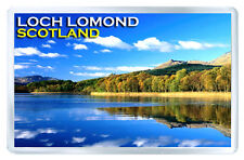LOCH LOMOND SCOTLAND FRIDGE MAGNET SOUVENIR IMAN NEVERA