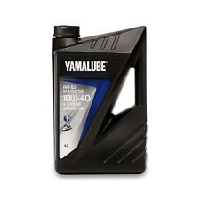 Yamaha Yamalube 4-Stroke Synthetic Outboard Motor Oil - 4L 10W 40