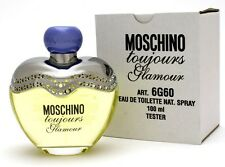 GLAMOUR TOUJOURS BY MOSCHINO 3.4 OZ EDT NEW IN TST BOX.
