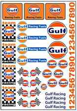 1/64, 1/87 - DECALS FOR HOT WHEELS, MATCHBOX, SLOT CAR:  GAS, OIL, RACING BRAND
