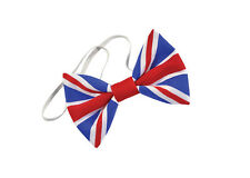 Union Jack Bow Tie Cloth Tie Accessory for Britain Fancy Dress Tie