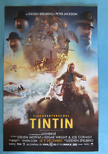Tintin Movie Poster •  Les Adventures De TINTIN