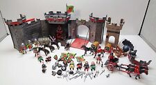 Playmobil 5803 WOLF CASTLE, CATAPULT, CHARIOT, KNIGHTS, WEAPONS & ACCESSORIES