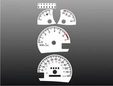 1998-2003 Pontiac Grand Prix Dash Cluster White Face Gauges 97-03