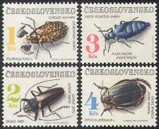 Czechoslovakia 1992 Beetles/Insects/Nature/Environment 4v set (n40921)
