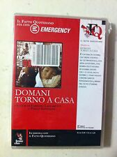 dvd domani torno a casa - emergency alleg. il fatto quotidiano blisterato