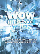 WOW Hits 2003 (DVD, 2002) Top Christian Artists & Music Video Hits
