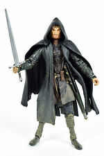 "Lord of The Rings Fellowship Aragorn Aka STRIDER 6"" Action Figure Toy Biz 2002"