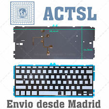 Retroiluminación para teclado Apple Macbook Air A1466 13""