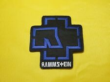 Embroidered Patch Iron Sew Punk Rock Heavy Metal Music Band Rammstein #14
