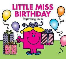 NEW sparkly LITTLE MISS BIRTHDAY (BUY 5 GET 1 FREE book) Mr Men