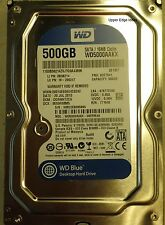 Western Digital 500GB Hard Drive 3.5 WD5000AAKX-08ERMA0