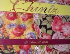 CHINTZ CERAMICS VALUE GUIDE COLLECTOR'S BOOK Wall Pocket Dish Teapot Saucer