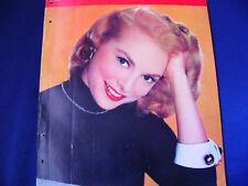 1958 Janet Leigh Large mag Shirley MacLaine Sandra Dee Barbara Nichols Sophia Lo