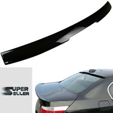 PAINTED 416 BLACK BMW E60 4D Sedan A Style 528i ROOF SPOILER M5