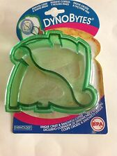 Bread Sandwich Crust Cutter DynoBytes Green Dinosaur School Lunch Mold
