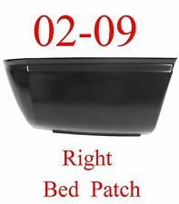 02 09 RIGHT Dodge Ram Lower Rear Bed Patch Panel 6', Fits Behind Tire, 1583-134