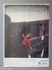R&L Ex-Mag Advert: Colorfast,  American Express, Harrods, Train No.3543