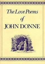 Love Poems of John Donne by John Donne (1982, Hardcover)