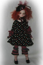 Heathered Dots outfit for DIM small MSD Dollstown 5y msd/slim-mini  BJD