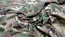 "Multicam Camouflage Outdoor 1.9 OZ. Nylon Ripstop Military Spec 60""W Fabric BTY"