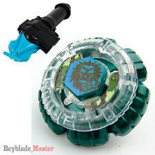 Fusion METAL Beyblade Masters COUNTERATTACK LEO KING+BLUE STRING LAUNCHER+GRIP
