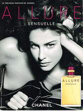 PUBLICITE  2006   CHANEL  parfum ALLURE sensuelle