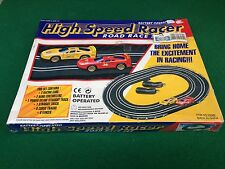 HIGH SPEED RACER - PISTA AUTO ELETTRICA , ROAD RACE SET - NUOVO/NEW/SIGILLATO