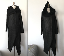Helmut Lang Size Small S Luxurious Full Node Shearling Long Length Coat