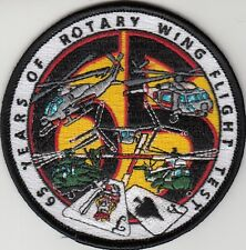 65 YEARS OF ROTARY WING FLIGHT TEST PATCH