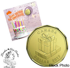 Canada 2017 Birthday Gift Coin Set with Special Loonie